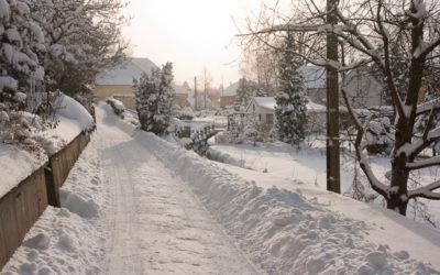 Winter – im Dorf unterwegs Dezember 2010