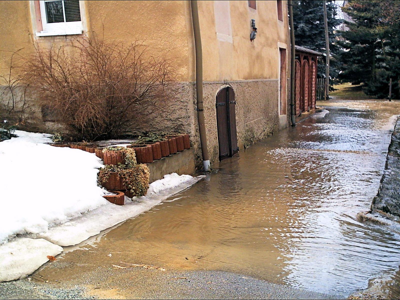 Hochwasser am 27. März 2006