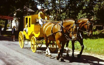 Nanu, eine gelbe Kutsche?