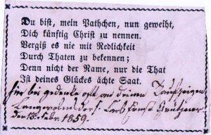 Patenbrief 1859
