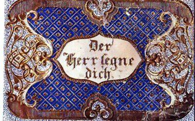 Ein Patenbrief 1859