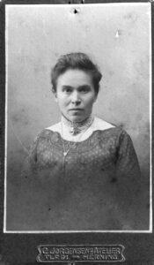 Helene Auguste Berghausen, geb. Reck - fotografiert um 1910.