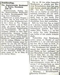 Zeitungsausschnitte von 1943 über die Goldene Hochzeit des Ehepaares Berghausen.